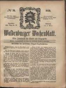 Waldenburger Wochenblatt, Jg. 5, 1859, nr 36