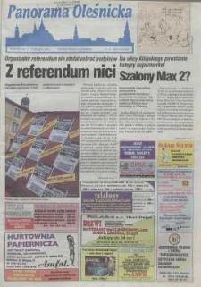 Panorama Oleśnicka: tygodnik Ziemi Oleśnickiej, 1999, nr 16 (408)