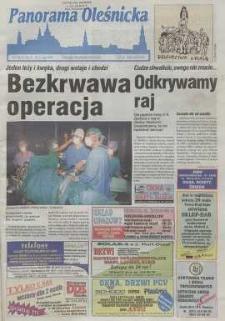Panorama Oleśnicka: tygodnik Ziemi Oleśnickiej, 1999, nr 21 (413)