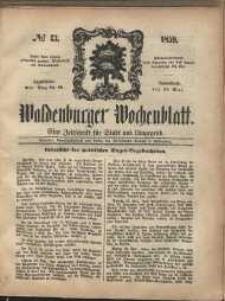 Waldenburger Wochenblatt, Jg. 5, 1859, nr 43