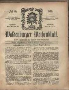 Waldenburger Wochenblatt, Jg. 5, 1859, nr 49