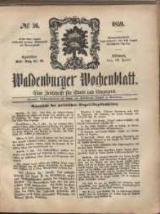 Waldenburger Wochenblatt, Jg. 5, 1859, nr 56