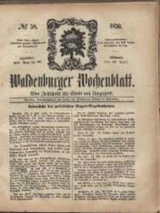 Waldenburger Wochenblatt, Jg. 5, 1859, nr 58