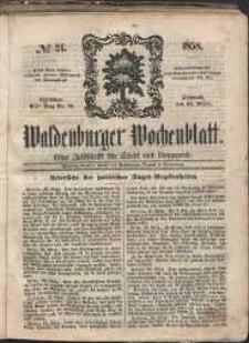Waldenburger Wochenblatt, Jg. 4, 1858, nr 24