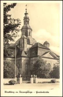 Jelenia Góra - kościół pw. Podwyższenia Świętego Krzyża [Dokument ikonograficzny]