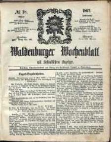 Waldenburger Wochenblatt, Jg. 8, 1862, nr 38