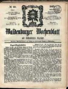Waldenburger Wochenblatt, Jg. 8, 1862, nr 60