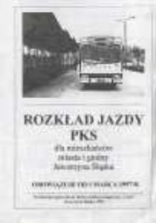 U Nas : miesięcznik jaworzyński, 1997, nr 35, dod. Rozkład jazdy PKS dla mieszkańców miasta i gminy Jaworzyna Śląska