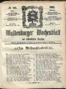 Waldenburger Wochenblatt, Jg. 8, 1862, nr 103