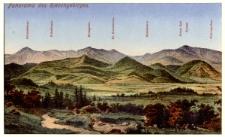 Panorama des Riesengebirges [Dokument ikonograficzny]