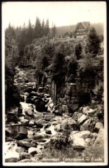 Karkonosze - wąwóz Kamieńczyka - schronisko Nad Wodospadem [Dokument ikonograficzny]