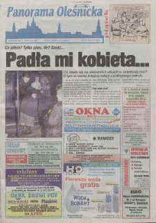 Panorama Oleśnicka: tygodnik Ziemi Oleśnickiej, 2000, nr 20 (479)