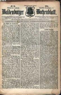 Waldenburger Wochenblatt, Jg. 27, 1881, nr 10