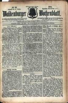 Waldenburger Wochenblatt, Jg. 27, 1881, nr 86