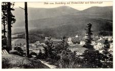 Blick vom Heidelberg auf Krummhübel und Schneekoppe [Dokument ikonograficzny]