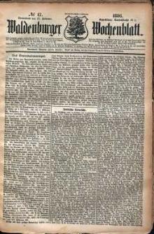 Waldenburger Wochenblatt, Jg. 32, 1886, nr 17