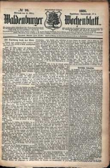 Waldenburger Wochenblatt, Jg. 32, 1886, nr 20