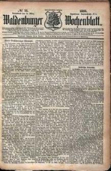 Waldenburger Wochenblatt, Jg. 32, 1886, nr 21