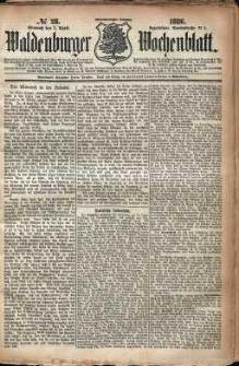 Waldenburger Wochenblatt, Jg. 32, 1886, nr 28