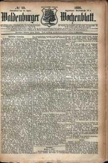 Waldenburger Wochenblatt, Jg. 32, 1886, nr 29