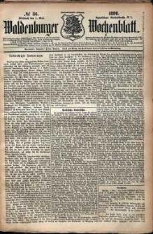 Waldenburger Wochenblatt, Jg. 32, 1886, nr 36