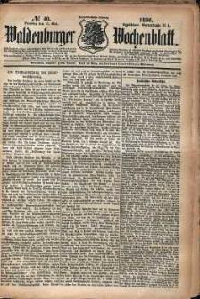 Waldenburger Wochenblatt, Jg. 32, 1886, nr 40