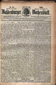 Waldenburger Wochenblatt, Jg. 32, 1886, nr 50