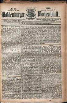 Waldenburger Wochenblatt, Jg. 32, 1886, nr 56