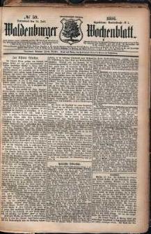 Waldenburger Wochenblatt, Jg. 32, 1886, nr 59