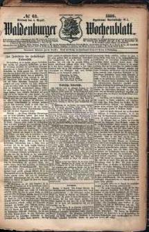 Waldenburger Wochenblatt, Jg. 32, 1886, nr 62