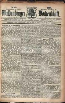 Waldenburger Wochenblatt, Jg. 32, 1886, nr 85