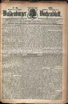 Waldenburger Wochenblatt, Jg. 32, 1886, nr 86