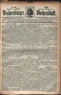 Waldenburger Wochenblatt, Jg. 32, 1886, nr 88