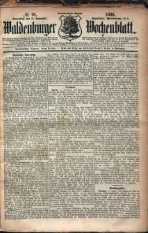 Waldenburger Wochenblatt, Jg. 32, 1886, nr 91