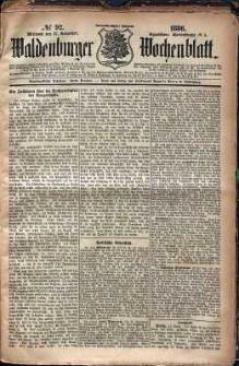 Waldenburger Wochenblatt, Jg. 32, 1886, nr 92
