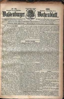 Waldenburger Wochenblatt, Jg. 32, 1886, nr 93