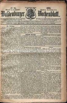 Waldenburger Wochenblatt, Jg. 32, 1886, nr 94
