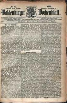 Waldenburger Wochenblatt, Jg. 32, 1886, nr 97