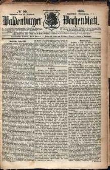 Waldenburger Wochenblatt, Jg. 32, 1886, nr 99