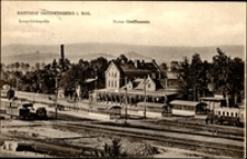 Gryfów Śląski - stacja kolejowa [Dokument ikonograficzny]