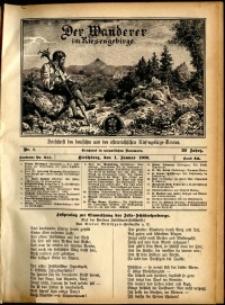 Der Wanderer im Riesengebirge, 1909, nr 1