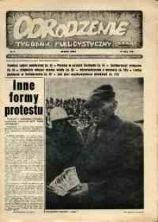 """Odrodzenie : tygodnik publicystyczny NSZZ """"Solidarność"""", 1981, nr 0 [1]"""