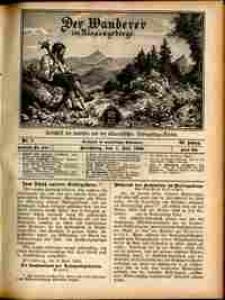 Der Wanderer im Riesengebirge, 1909, nr 7