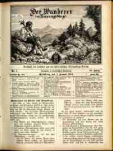 Der Wanderer im Riesengebirge, 1910, nr 1