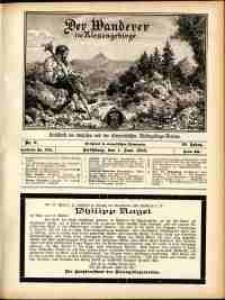 Der Wanderer im Riesengebirge, 1910, nr 6