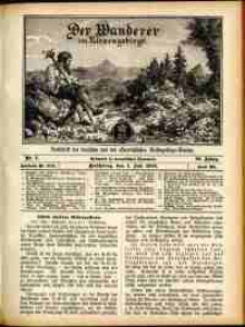 Der Wanderer im Riesengebirge, 1910, nr 7