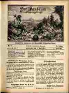 Der Wanderer im Riesengebirge, 1911, nr 5