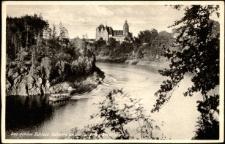 Das schöne Schloss Tschocha an der Talsperre Marklissa [Dokument ikonograficzny]
