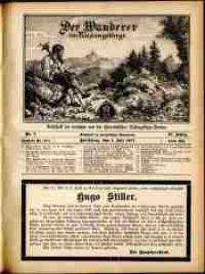 Der Wanderer im Riesengebirge, 1911, nr 7