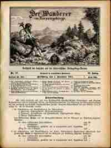 Der Wanderer im Riesengebirge, 1911, nr 12